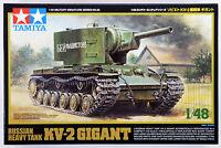 Tamiya 32538 Russian KV-2 Heavy Tank Gigant 1/48 scale kit