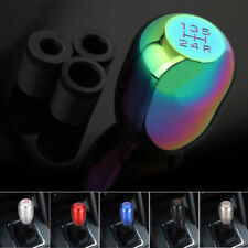 NEO CHROME Universal Car 5 Speed Gear Shift Lever Manual Knob Stick Replacement