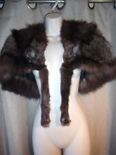 SILVER FOX FUR STOLE USED BY WRIGHT AND SONS FURRIERS