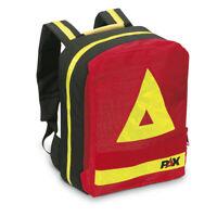Notfallrucksack , PAX-Plan, rot, gefüllt mit Verbandset nach DIN 14142-K