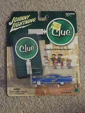 Johnny Lightning Clue 1959 Cadillac Eldorado Mrs. Peacock 1:64 Scale MOC 2004