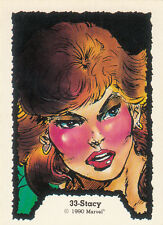 1990 COMIC IMAGES MARVEL GHOST RIDER CARD #33 STACY