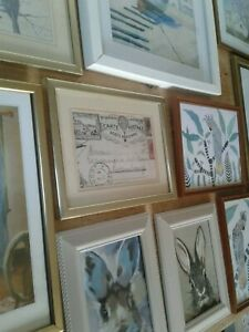 A Joblot of 12 Mixed Type and Size Picture Frames