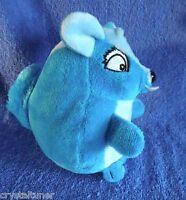 *1710a*  Blue Squirrel  - ELKA - 15cm & plush -  so cute!