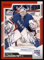 2020-21 UD O-Pee-Chee Red Border #62 Henrik Lundqvist - New York Rangers