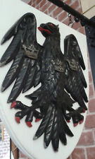 Vintage Barclays Bank Sign - Original famous Eagle crest with the three crowns