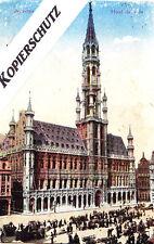 """Alte AK """" Bruxelles - Hotel de Ville """" (Brüssel/Belgien-Rathaus)  / etwa 1915"""