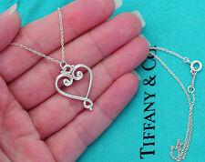 Tiffany & Co Paloma Picasso Plata Venezia Goldoni Corazón 45.7cm Collar