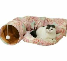 Foldable Pet Cat Tunnel Indoor Outdoor Pet Cat Training Toy For Cats Rabbit Gift