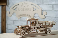UGEARS Truck UGM-11 mechanical wooden model KIT 3D puzzle Assembly