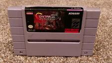 Contra III 3 The Alien Wars Super Nintendo SNES Video Game Cartridge lot TESTED!