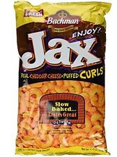 Bachman Jax Cheddar Cheese Puffed Curls 9.75 Oz