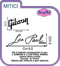 GIBSON les paul  ADESIVO  chitarra sticker