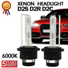 2pcs HOT 55W D2S D2R D2C HID XENON HEAD LIGHT BULB LAMP LOW BEAM 6000K DIAMOND