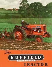 Nuffield Universal Tractor - Poster (A3)