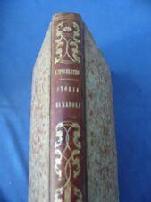 BORBONICA-STORIA REGNO DI NAPOLI-FRANCESCO CAPECELATRO NAPOLITANO-NAPOLI 1840