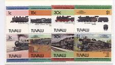 Tuvalu Treni serie completa nuova gomma integra MNH (N334)