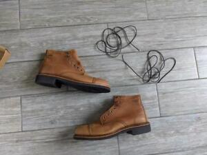 new WOLVERINE usa made GORE-TEX janson boots 9 M brown tan  W40468