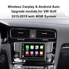 For VW GOLF 2015-2018 Wireless Apple Carplay  Android auto interface retrofit