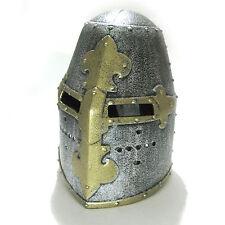 Medieval Knight Armor Crusader Templar Helm Adult Halloween Helmet