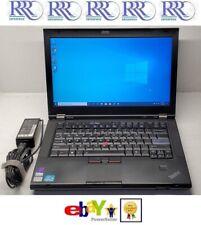 "Lenovo ThinkPad T420 Laptop Core i5 2.5Hz 14"" 4Gb 250Gb Dvdrw Nvidia Bt Fpr W10"