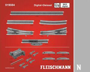 Fleischmann N 919084 Profi-Gleis DCC Digital Gleisset Ü2  - NEU + OVP