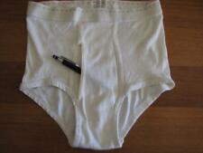 Vintage underwear J C Penney rare dash line white brief 32 1960s