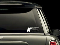 If You Cant Stand Behind Our Troops Vinyl Window Decal Bumper Sticker US Seller