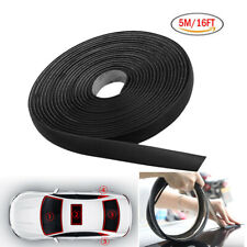 5m Seal Strip Trim For Car Front Rear Windshield Sunroof Weatherstrip Rubber Fits Saab