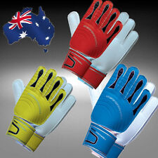 Soccer Football Goalkeeper Gloves Latex Protective Equipment Red/Blue/Yellow