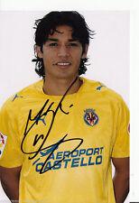 Matias Fernandez FC Villareal TOP Foto Orig. Sign. +A45481