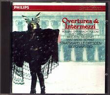 Silvio Varviso: Overtures Bizet MASCAGNI ROSSINI PONCHIELLI Puccini Massenet CD