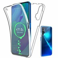 SDTEK Coque pour Huawei Nova 5T Full Body 360 Degres Protection