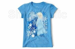 SFK Disney Frozen Elsa Graphic Tee - Blue