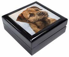 Border Terrier Keepsake/Jewellery Box Christmas Gift, AD-BT2JB