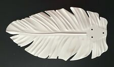 NEW CEILING FAN REPLACEMENT PALM LEAF BLADE  WHITE