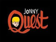 1960s Jonny Quest cartoon Tv Show logo magnet - new!