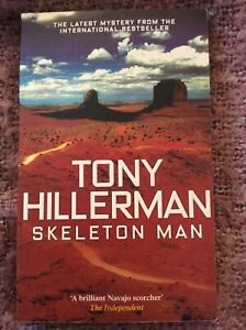 Skeleton Man by Tony Hillerman (Paperback)