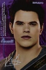 Kellan Lutz-AUTOGRAFO carta-signed autograph Twilight skinning fan raccolta