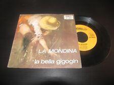 """SANDRA - LA MONDINA / LA BELLA GIGOGIN  REVIVAL FOLK RF 3003  LP 7"""""""