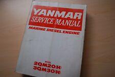 YANMAR 2QM20H 3QM30H Marine Diesel Engine Repair Shop Service Manual boat motor