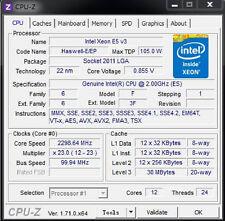 Intel Xeon E5-2630 v4 ES QK3G 2.2GHz 10C Compatible with X99 i7-6850K 6950X