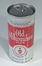 Vintage Old Milwaukee Beer Tall Thin 12oz Can Aluminum Bottom Opened