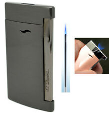 S T Dupont Slim 7 Lighter - Gunmetal Finish with Free Engraving (027712)