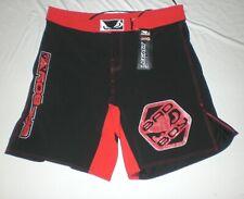 Bad Boy Legacy Fight Shorts Pro Series 2Xl Black Red Nwt Wrestling Bjj Jiu Jitsu