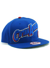 New Era Captain America 9fifty Snapback Hat Adjustable Marvel Heroes Blue NWT