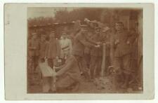 133782 antica foto cartolina militari soldati mitragliatrici