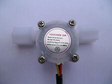 "G1/4"" 0.3-6L/min Water Coffee Flow Hall Sensor Switch Meter Flowmeter Counter"