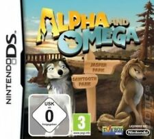 Alpha and OMEGA Nintendo DS Adventure of The Wolves Game