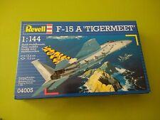 NEW Sealed Vintage 1996 Revel F-15 A Tigermeet, 1:144, 04005, Plastic Model Kit.